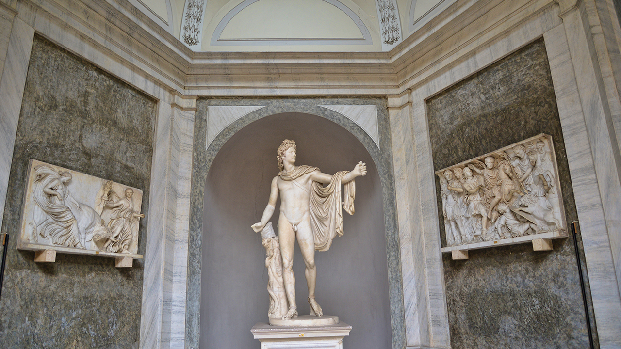 Vatican Statue 3 -sm