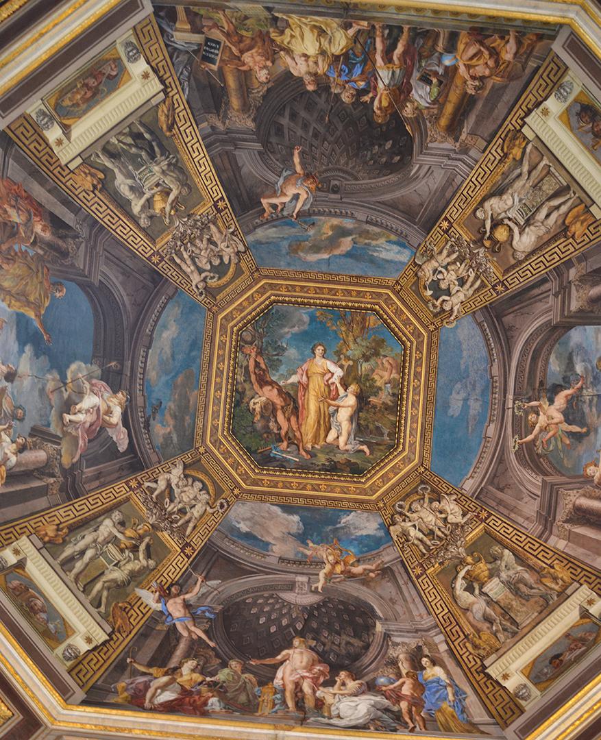 Vatican ceiling -sm
