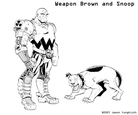 WeaponBrownandSnoopy
