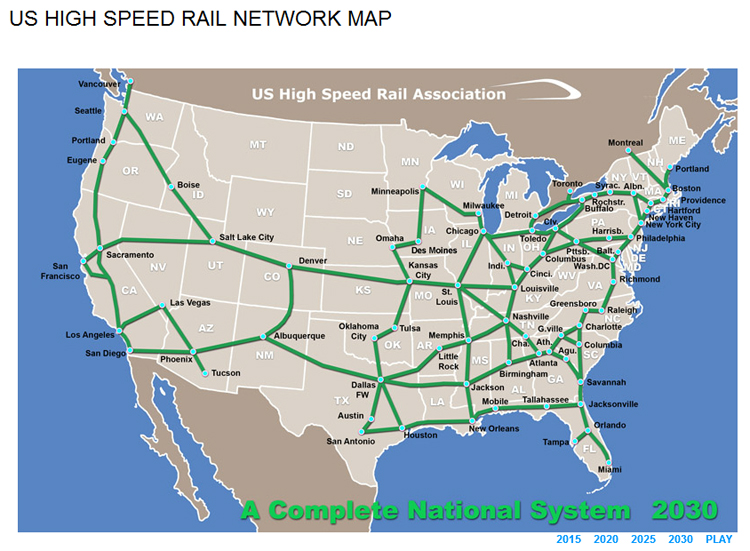 High Speed Rail would put Redding on the map ReallyRedding