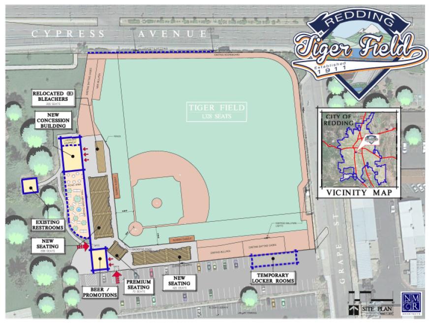 A bold plan for Redding\'s Tiger Field | ReallyRedding