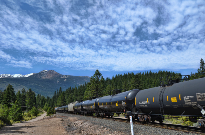 Only tank cars enjoy these Siskiyou views now.