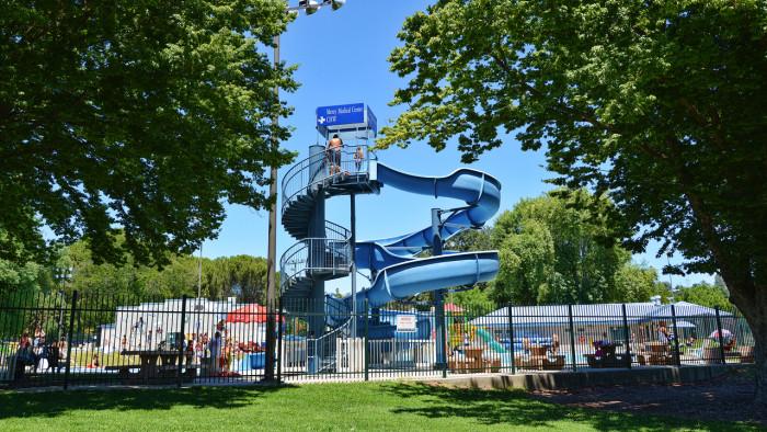 Aquatic Center Slide