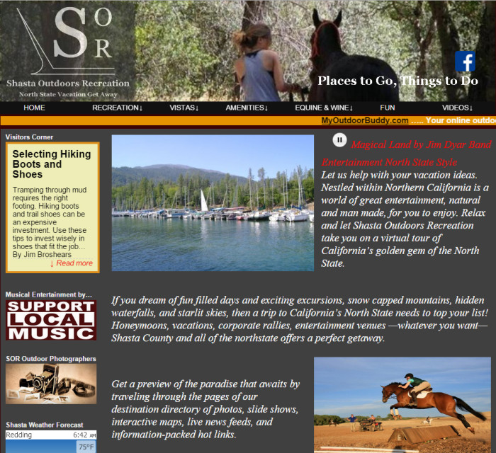 Shasta Outdoors Recreation