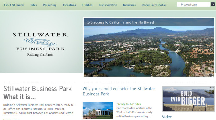 "Perhaps it would be better named ""We Still Have Water Business Park"""