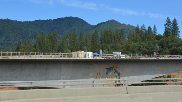 Fish painting on Bridge2