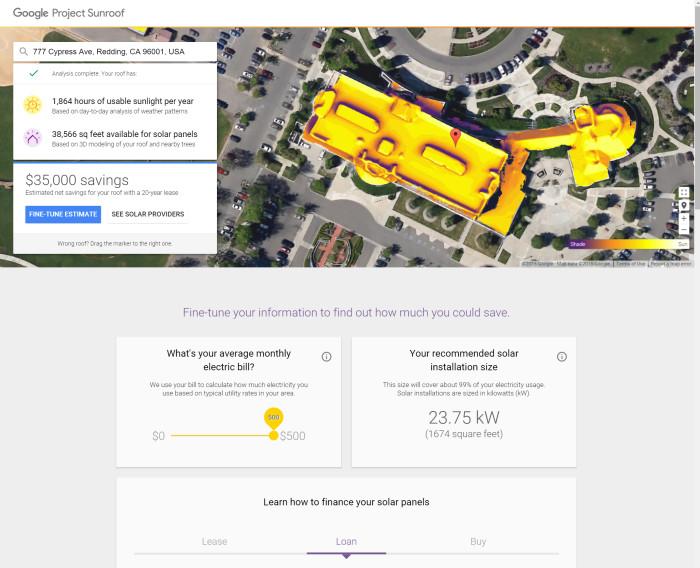 Google Project Sunroom
