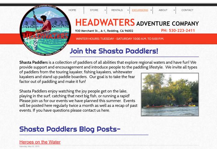 Shasta Paddlers