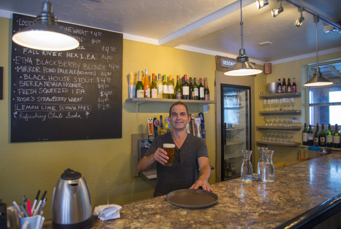 Bistro 107 proprietor Serge Margot.