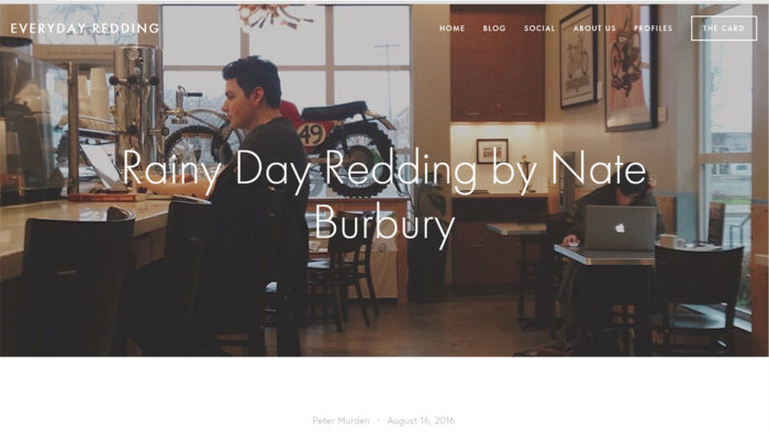 Everyday Redding blog